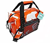 Polar Bear Coolers - H2O Waterproof Line - Quality Like No Other From the Brand You Can Trust - See Touch & FEEL the Patented Polar Bear Difference - 12 Pack Tangerine
