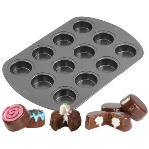 Wilton 2105-3647 Non-Stick 12-Cavity Spool Cake Pan by Wilton 512XCS 2BKfwL