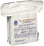S.O.S. Rations Emergency 3600 Calorie Food Bar - 3 Day / 72 Hour Package with 5 Year Shelf Life Net wt. 1.60lbs (756g)