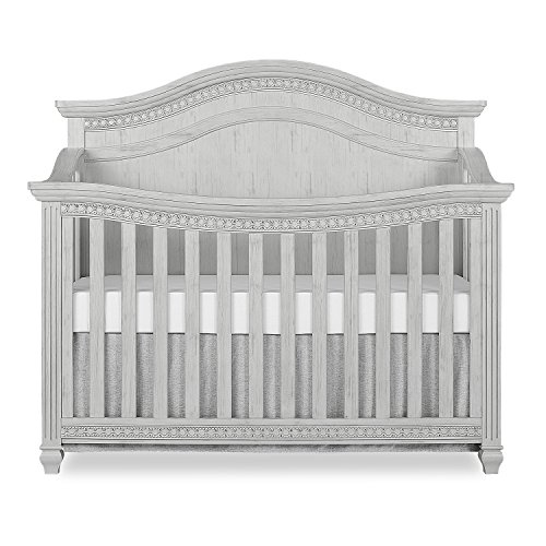 #5 - Evolur Madison 5 in 1 Curved Top Convertible Crib