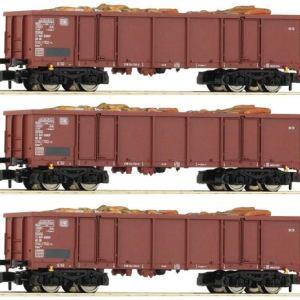 Fleischmann 828345 DB Eaos Gondola Set w/Scrap Metal Load (3) IV 512bE9sJ 2BTL