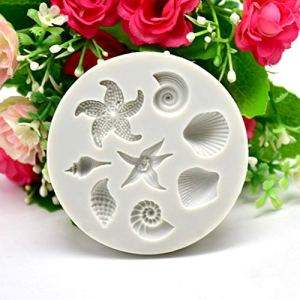 ❤❃ Afdiscount Clearance ❤❃, DIY Sea Creatures Conch Shell Fondant Cake Candy Cake Decoration Tools 512cXXjuFpL