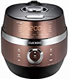 CUCKOO CRP-JHSR0609F 6 Cup Stainless 4.0 Smart Induction Heating Pressure Electric Rice Cooker (6 Cups) (CRP-JH06)