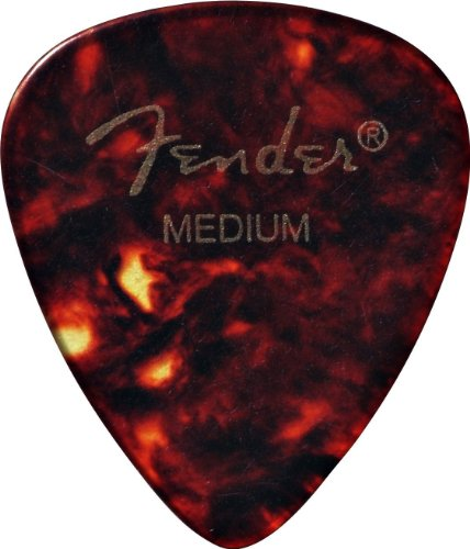 Fender-351-Shape-Classic-Picks-12-Pack-for-electric-guitar-acoustic-guitar-mandolin-and-bass
