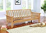 Product review for Coaster Home Furnishings 4838 Casual Futon Frame, Natural