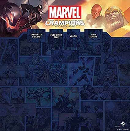 Image result for marvel champions game mats