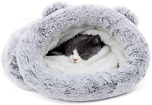 "PAWZ Road Cat Sleeping Bag Self-Warming Kitty Sack 23""X22""-Silver"