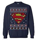 CLOTHINGFORFUN Super Logo Ugly Man Merry Christmas Sweatshirt