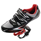 Venzo Road Bike Compatible with Shimano SPD SL Look Cycling Bicycle Shoes with Pedals 48