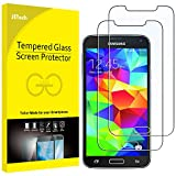 JETech Screen Protector for Samsung Galaxy S5, Tempered Glass Film, 2-Pack