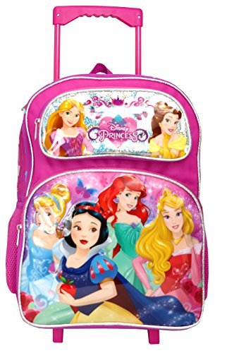 Princess 16 inches Large Rolling Backpack - 13089