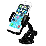 Mpow Grip Pro Mobile Phone Universal Car Mount Holder Cradle for Windshield Dashboard