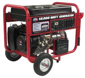 All Power America APGG10000, 8000 Running Watts/10000 Starting Watts, Gas Powered Portable Generator