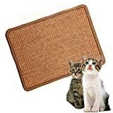 LPLED Cat Scratching Mat,Natural Sisal Cat Mat,Protection Play Scratcher Pad