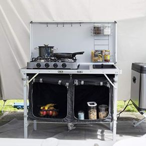 Campart-Travel-KI-0757-Outdoor-Kitchen-Granada--Complete-Kitchen--Storage-Bag-Included
