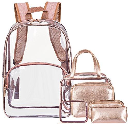 NiceEbag 6 in 1 Clear Backpack