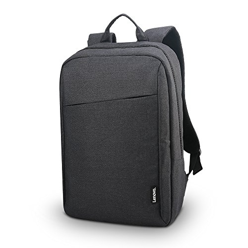 Lenovo Laptop Backpack B210, fits for 15.6-Inch Laptop and Tablet, Sleek for Travel, Durable, Water-Repellent Fabric, Clean Design, Business Casual or College, for Men Women Students, GX40Q17225