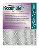 Accumulair Diamond 24x25x4 (Actual Size) MERV 13 Air Filter/Furnace Filters (2 Pack)