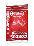 12 Kenmore Sears Allergy Vacuum Bag, Canister Vacuum Cleaners, 5023-5033 Bag Changed to Kenmore Type E for Manufacture Model # 609196, 116.25950