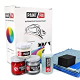 PAINT2FIX Nissan 370Z Pearl White QAB Touch Up Paint - Scratch & Chip Repair Kit - Silver Pack