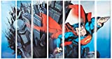 RoomMates Superman  Removable Wall Mural - 10.5 feet X 6 feet
