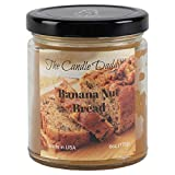 The Candle Daddy Richly Scented Candles - 6oz Aromatherapy Jar Candle (Banana Nut Bread) Made in USA