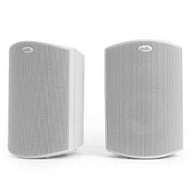 Polk-Audio-Atrium-5-Outdoor-Speakers-with-Powerful-Bass-Pair-White-All-Weather-Durability-Broad-Sound-Coverage-Speed-Lock-Mounting-System