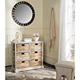 Product review for Safavieh American Homes Collection Keenan Vintage Grey 6 Wicker Basket Storage Chest