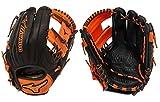 Mizuno GMVP1154SE4 MVP Prime SE Gloves, Black/Orange, Right Hand Throw
