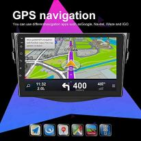 UNITOPSCI-Android-91-Car-Stereo-for-Toyota-RAV4-2007-2011-Navigation-Stereo-Double-Din-Car-Radio-9-HD-Touch-Screen-1G-16G-GPS-Navigation-WiFi-Bluetooth-FM-Radio-USB-Mirror-Link-Backup-Camera