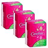 CAREFREE Original Regular To-Go Pantiliners, Fresh Scent 20 ea (3 pack )