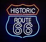 Neonetics 5RT66N Historic Route 66 Neon Sign