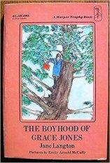 The Boyhood of Grace Jones: Langton, Jane: 9780064400657: Amazon.com: Books