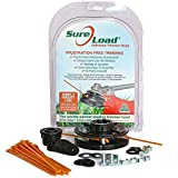 Sure Load Universal Trimmer Head Replacement- Easiest Loading String-Less Trimmer Head Available! Fits All Gas Powered Weed Trimmers. Make Weed wacking Easy!