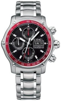 Ebel 1911 Discovery Mens Stainless Steel Automatic Chronograph Watch 9750L62/53R60 - 1215890