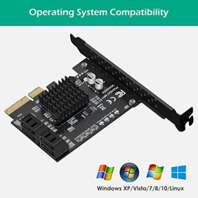 N-NORANIE-4-Port-SATA-III-6Gbps-PCIE-RAID-Host-Controller-Card-Support-HyperDuo-SSD-Tiering-IPFS-Hard-Disk-Port-Multiplier-Marvell-88SE9230-Chipset