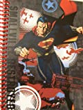 "DC Comics Superman Man of Steel Spiral Notebook ~ Superman to the Rescue (8"" x 10.5""; 70 Sheets, 140 Pages)"