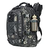 ARMYCAMOUSA 40L - 64L Outdoor Expandable Tactical Backpack Military Sport Camping Hiking Trekking Bag School Travel Gym Carrier