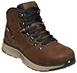 KEEN Utility - Men's Manchester 6'' WP (Aluminum Toe) Waterproof Work Boot for Maintenance, Transportation, Warehouse and Distribution, Cascade Brown/Brindle, 9EE M US