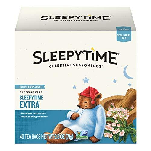 Celestial Seasonings Wellness Tea, Sleepytime Extra, 40 Count (Pack of 6)