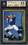 1998 Topps #360 Peyton Manning Rookie Card Graded BGS All 9.5