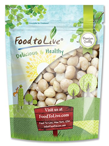 Food to Live Macadamia Nuts (Raw) (8 Ounces)