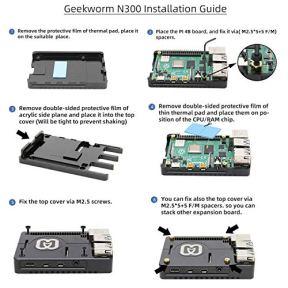 Geekworm-Raspberry-Pi-4-Case-Raspberry-Pi-4-Model-B-CNC-Ultra-Thin-Aluminum-Alloy-Metal-Passive-Cooling-Case-Raspberry-Pi-4-Heatsink-Case-Compatible-with-Raspberry-Pi-4B-Pi-4B-Pi-4-Only-N300