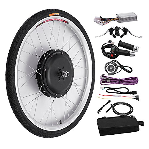 "FCH 26"" Front Wheel Electric Bicycle Conversion Kit,48V 1000W Ebike Hub Motor Conversion Kit"