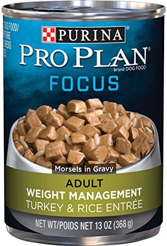 Purina Pro Plan Weight Management Adult Dry Dog Food & Wet Dog Food (Packaging May Vary) 1