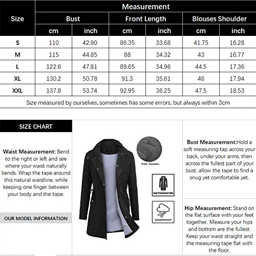 FISOUL Raincoats Waterproof Lightweight Rain Jacket Active Outdoor Hooded Women's Trench Coats 6 Fashion Online Shop gifts for her gifts for him womens full figure