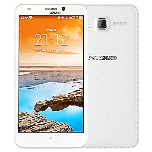 Lenovo A916 8GB White, Dual Sim, 5.5 inch, Unlocked International Model, No Warranty