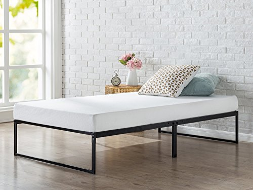 Zinus Lorelei 12 Inch Platforma Bed Frame / Mattress Foundation / No Box Spring Needed / Metal Slat Support, Twin