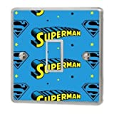 Various Superman Light Switch Sticker Vinyl / Skin Cover Sw9