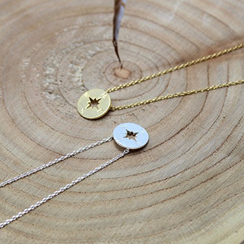 Best Christmas Danties: Compass Necklace, Best Friend Necklace For 2, BFF Necklace